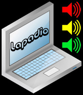 Lapadio Logo (Fictional Content Strategy Example)